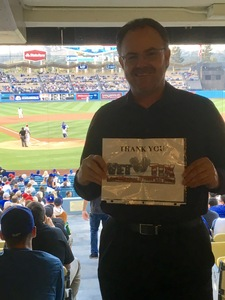 Clint attended Los Angeles Dodgers vs. St. Louis Cardinals - MLB on May 24th 2017 via VetTix