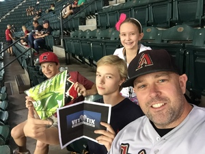 Bryant attended Arizona Diamondbacks vs. Milwaukee Brewers - MLB on Jun 10th 2017 via VetTix