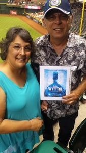 Ron attended Arizona Diamondbacks vs. Milwaukee Brewers - MLB on Jun 10th 2017 via VetTix