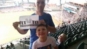 Jeffrey attended Arizona Diamondbacks vs. Milwaukee Brewers - MLB on Jun 10th 2017 via VetTix