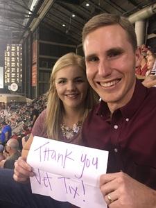 Adam attended Arizona Diamondbacks vs. Milwaukee Brewers - MLB on Jun 10th 2017 via VetTix