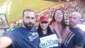 Jason attended Arizona Diamondbacks vs. Philadelphia Phillies - MLB on Jun 25th 2017 via VetTix