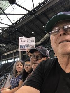 David attended Arizona Diamondbacks vs. Philadelphia Phillies - MLB on Jun 25th 2017 via VetTix