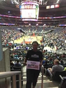 Click To Read More Feedback from Washington Mystics vs. Chicago Sky - WNBA - Military Appreciation Night!
