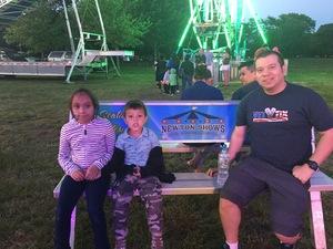 Juan attended Eisenhower Park * Carnival on May 26th 2017 via VetTix