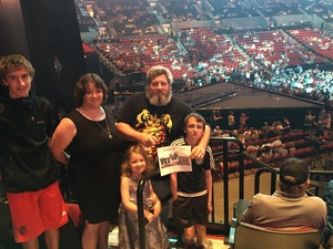 andrew attended Soul2Soul the World Tour 2017 on May 26th 2017 via VetTix