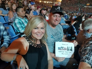 Michael attended Soul2Soul the World Tour 2017 on May 26th 2017 via VetTix