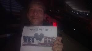 clinton attended Soul2Soul the World Tour 2017 on May 26th 2017 via VetTix