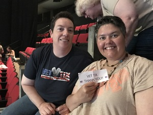 HEATHER attended Soul2Soul the World Tour 2017 on May 26th 2017 via VetTix