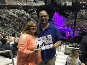 Don attended Neil Diamond - the 50 Year Anniversary World Tour on Jun 2nd 2017 via VetTix