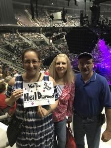 Timothy attended Neil Diamond - the 50 Year Anniversary World Tour on Jun 2nd 2017 via VetTix