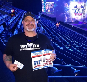 Click To Read More Feedback from Marvel Universe Live! Age of Heroes - Tickets Good for Friday 6/23 Only