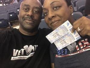 Jerome attended Chicago Sky vs. Washington Mystics - WNBA on Jun 25th 2017 via VetTix