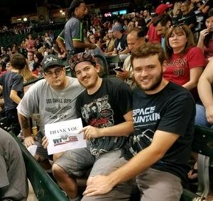 Gilbert attended Arizona Diamondbacks vs. Washington Nationals - MLB on Jul 21st 2017 via VetTix