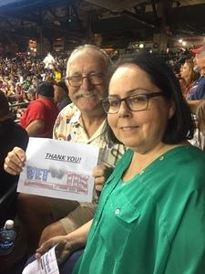 Kenneth attended Arizona Diamondbacks vs. Washington Nationals - MLB on Jul 21st 2017 via VetTix