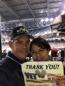 Stephen C attended Arizona Diamondbacks vs. Atlanta Braves - MLB on Jul 24th 2017 via VetTix