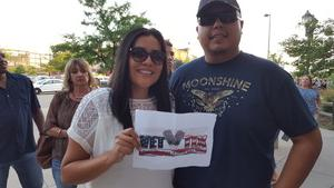 Byron attended Soul2Soul With Tim McGraw and Faith Hill on Jul 31st 2017 via VetTix