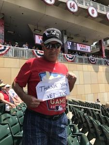 Click To Read More Feedback from Minnesota Twins vs. Los Angeles Twins - MLB