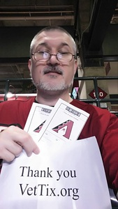 Patrick attended Arizona Diamondbacks vs. Houston Astros - MLB on Aug 14th 2017 via VetTix