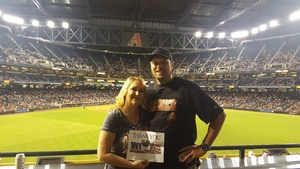 Timothy attended Arizona Diamondbacks vs. Houston Astros - MLB on Aug 14th 2017 via VetTix