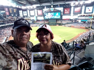 Francisco attended Arizona Diamondbacks vs. Los Angeles Dodgers - MLB on Aug 31st 2017 via VetTix