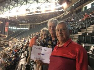 Orlando attended Arizona Diamondbacks vs. Los Angeles Dodgers - MLB on Aug 31st 2017 via VetTix