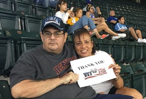 Maruja attended Arizona Diamondbacks vs. Los Angeles Dodgers - MLB on Aug 31st 2017 via VetTix