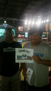 Wil attended Arizona Diamondbacks vs. Colorado Rockies - MLB on Sep 12th 2017 via VetTix