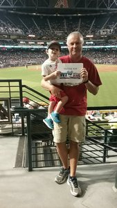 Richard attended Arizona Diamondbacks vs. Colorado Rockies - MLB on Sep 12th 2017 via VetTix
