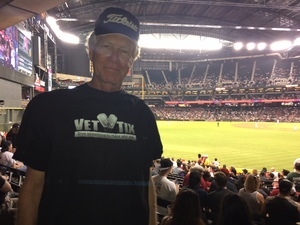 robert attended Arizona Diamondbacks vs. Colorado Rockies - MLB on Sep 12th 2017 via VetTix
