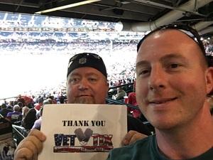 Michael attended Arizona Diamondbacks vs. Colorado Rockies - MLB on Sep 14th 2017 via VetTix