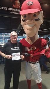 Daniel attended Arizona Diamondbacks vs. San Francisco Giants - MLB on Sep 27th 2017 via VetTix