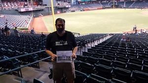 Jeffrey attended Arizona Diamondbacks vs. San Francisco Giants - MLB on Sep 27th 2017 via VetTix