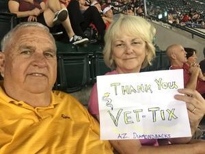 Mark attended Arizona Diamondbacks vs. San Francisco Giants - MLB on Sep 27th 2017 via VetTix