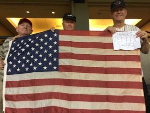 Ronald S. - Mesa, AZ attended Arizona Diamondbacks vs. San Francisco Giants - MLB on Sep 27th 2017 via VetTix