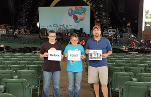 Click To Read More Feedback from Train, Natasha Bedingfield, and O.a.r. - Reserved Seats