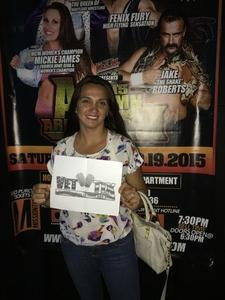 Leyla attended Mcw Presents Shamrock Cup Night 1 - Presented by Maryland Championship Wrestling on Jul 14th 2017 via VetTix