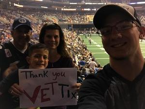 Troy attended Arizona Rattlers vs. Nebraska Danger - Hero of the Game - Read Instructions Below Before Claiming Tickets on Jun 24th 2017 via VetTix