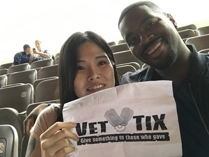 Tramal attended Onerepublic Honda Civic Tour on Aug 2nd 2017 via VetTix