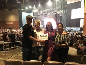 Derek attended Onerepublic Honda Civic Tour on Aug 2nd 2017 via VetTix