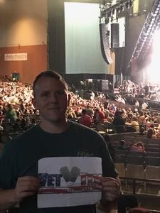 Gary attended Onerepublic Honda Civic Tour on Aug 2nd 2017 via VetTix