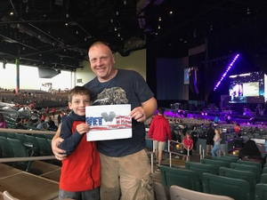Jason attended Onerepublic Honda Civic Tour on Aug 2nd 2017 via VetTix