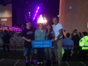 Bruce attended Onerepublic Honda Civic Tour on Aug 2nd 2017 via VetTix