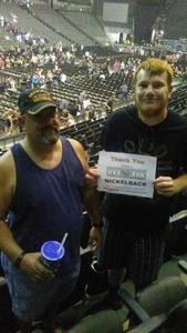 David attended Nickelback - Feed the Machine Tour With Special Guest Daughtry and Shaman's Harvest on Jul 21st 2017 via VetTix