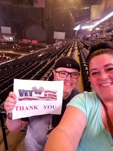 Sara attended Nickelback - Feed the Machine Tour With Special Guest Daughtry and Shaman's Harvest on Jul 21st 2017 via VetTix