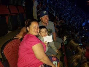 Larissa attended Shawn Mendes - Illuminate World Tour With Special Guest Charlie Puth on Jul 15th 2017 via VetTix