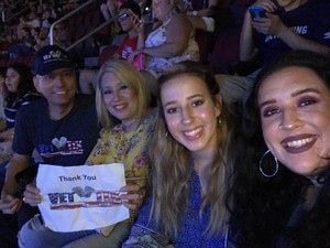 Bruce attended Shawn Mendes - Illuminate World Tour With Special Guest Charlie Puth on Jul 15th 2017 via VetTix
