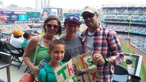 James attended New York Yankees vs. Toronto Blue Jays - MLB on Jul 4th 2017 via VetTix