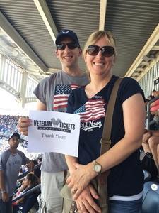 Jason attended New York Yankees vs. Toronto Blue Jays - MLB on Jul 4th 2017 via VetTix