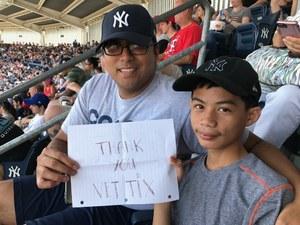Andre attended New York Yankees vs. Toronto Blue Jays - MLB on Jul 4th 2017 via VetTix